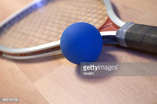 Angled Racquet