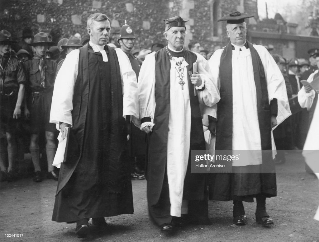 Anglican prelate Cosmo Gordon Lang at his enthronement as Archbishop of Canterbury Canterbury Cathedral 4th December 1928