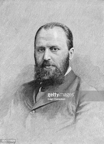 AngloAmerican writer Henry James circa 1880