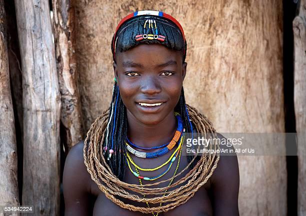 Angola Southern Africa Oncocua mucawana girl called fernanda