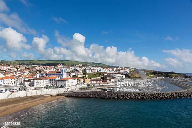 Angra do Heroismo port and harbour, Terceira