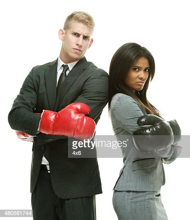 Angry business people : Stock Photo