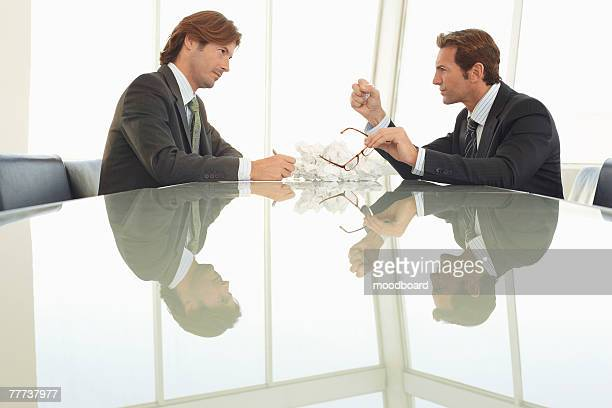Angry Businessmen in Meeting
