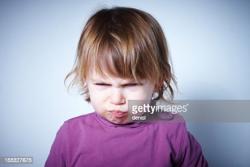 Angry child : Stock Photo