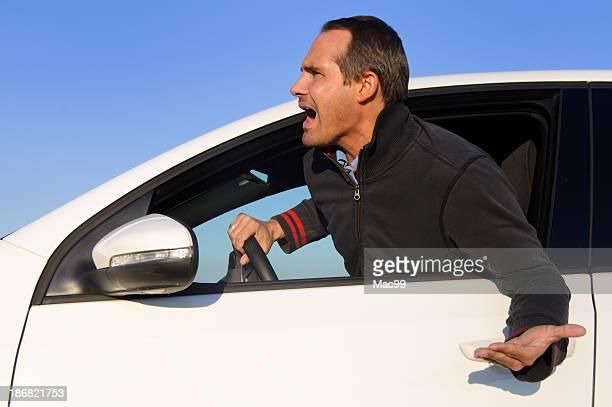 Wütende Fahrer