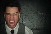 Angry Screaming Vampire