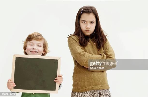 Angry sibling