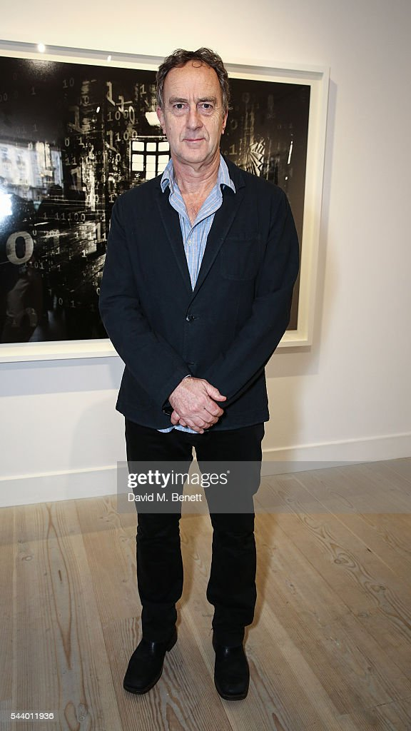 <a gi-track='captionPersonalityLinkClicked' href=/galleries/search?phrase=Angus+Deayton&family=editorial&specificpeople=213542 ng-click='$event.stopPropagation()'>Angus Deayton</a> attends a private view of 'Ordinary Madness' by Charlotte Colbert at Gazelli Art House on June 30, 2016 in London, England.