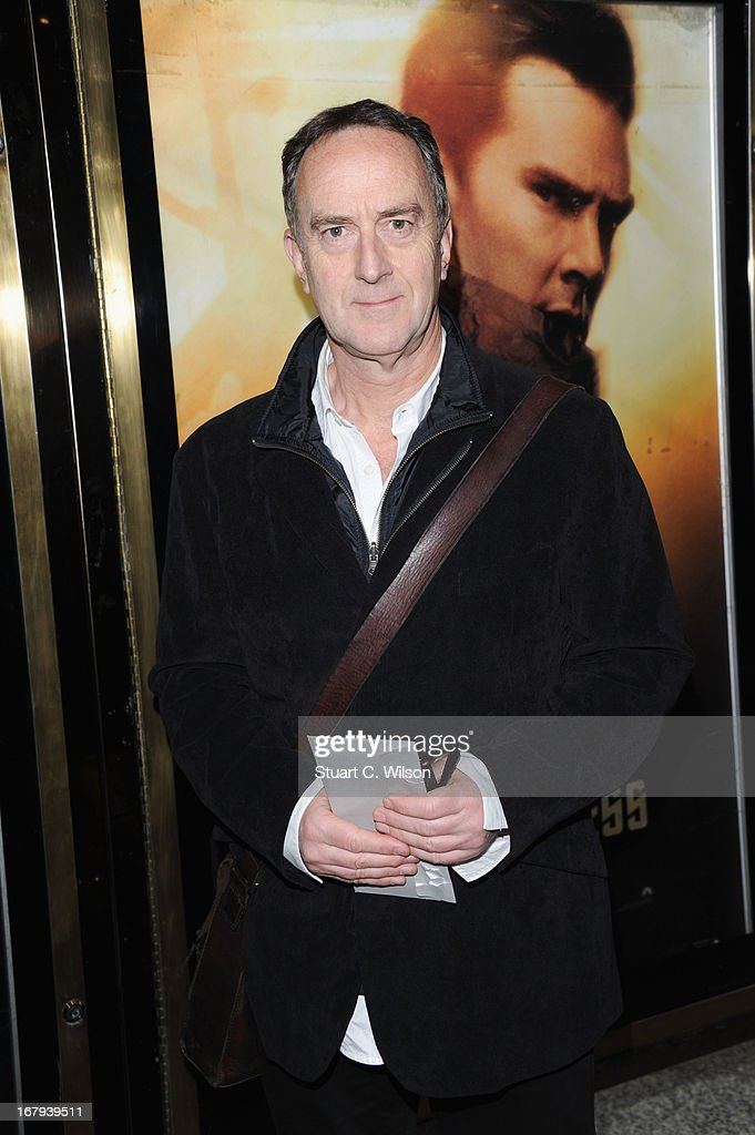 Angus Deayton attends the UK Premiere of 'Star Trek Into Darkness' at The Empire Cinema on May 2, 2013 in London, England.