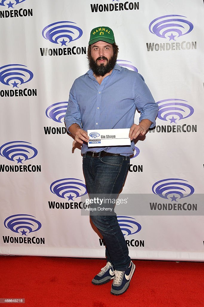 Angus Sampson attends 'Insidious Chapter 3' Cast and Filmmakers press line at Anaheim Convention Center on April 4 2015 in Anaheim California