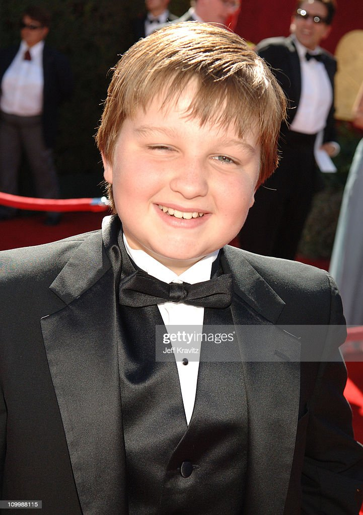 <a gi-track='captionPersonalityLinkClicked' href=/galleries/search?phrase=Angus+T.+Jones&family=editorial&specificpeople=240423 ng-click='$event.stopPropagation()'>Angus T. Jones</a> during 58th Annual Primetime Emmy Awards - Red Carpet at The Shrine Auditorium in Los Angeles, California, United States.