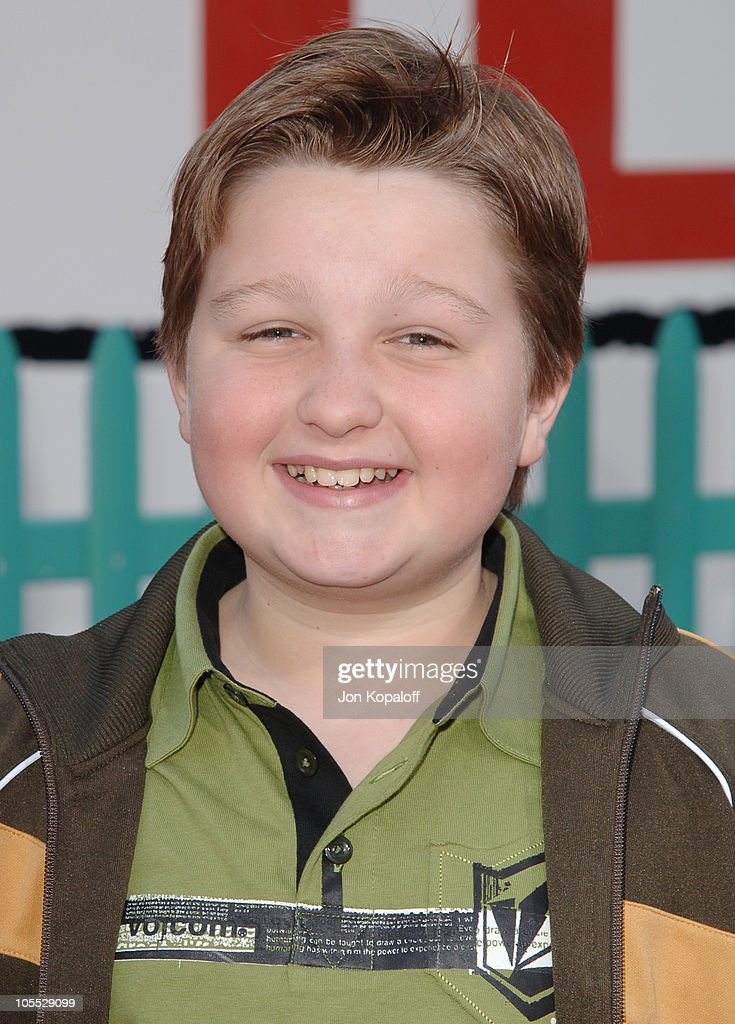 <a gi-track='captionPersonalityLinkClicked' href=/galleries/search?phrase=Angus+T.+Jones&family=editorial&specificpeople=240423 ng-click='$event.stopPropagation()'>Angus T. Jones</a> during 'Chicken Little' Los Angeles Premiere - Arrivals at El Capitan Theater in Hollywood, California, United States.