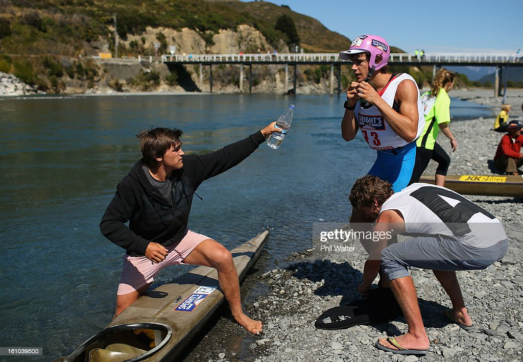 Angus Watson of New Zealand competes in the one day individual event during the 2013 Speights Coast to Coast on February 9, 2013 in Christchurch, New Zealand.