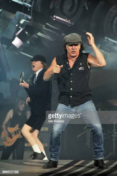 AC/DC Angus Young Brian Johnson ACDC Amsterdam ArenA Amsterdam Holland