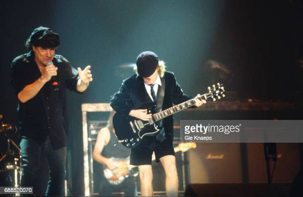AC/DC Angus Young Brian Johnson ACDC Flanders Expo Gent Belgium