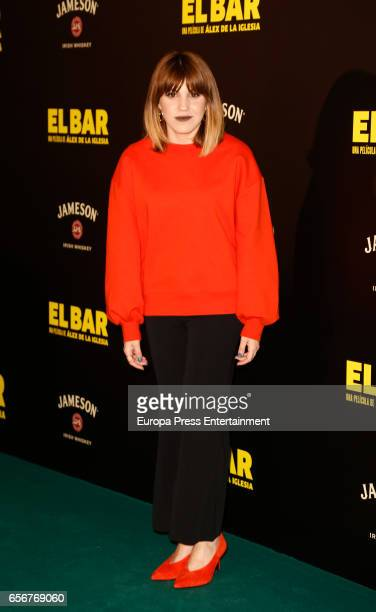 Angy Fernandez attends 'El Bar' premiere at Callao cinema on March 22 2017 in Madrid Spain