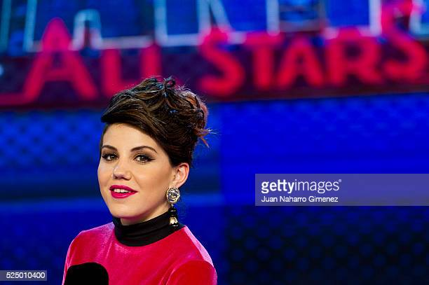 Angy Fernandez attends 'Levantate All Star' photocall at Estudias Picasso on April 27 2016 in Madrid