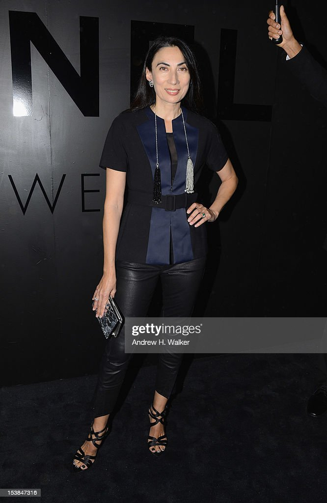 Anh Duong attends the celebration of CHANEL FINE JEWELRY'S 80th anniversary of the 'Bijoux De Diamants' collection created by Gabrielle Chanel on October 9, 2012 in New York City.