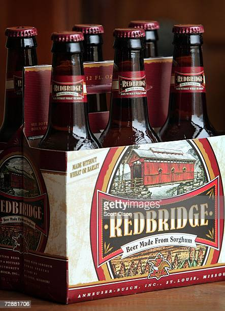 AnheuserBusch's Redbridge beer is shown December 27 2006 in Chicago The beer is aimed towarded people with wheat allergies and others who choose a...