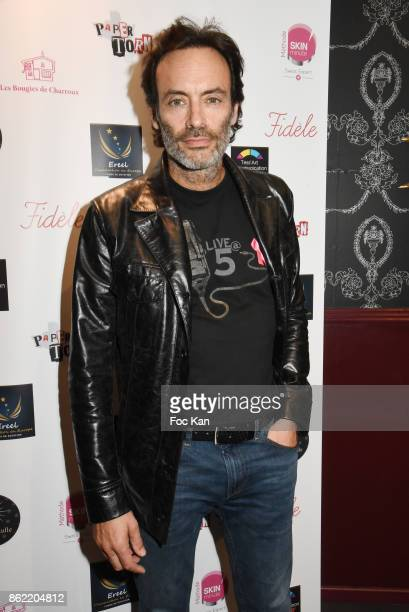 Anhony Delon attends the 'Souffle de Violette' Auction Party As part of 'Octobre Rose' Hosted by Ereel at Fidele Club on October 16 2017 in Paris...
