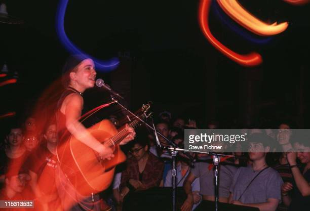 Ani DiFranco during Ani DiFranco in Concert at Wetlands 1994 at Wetlands in New York City New York United States