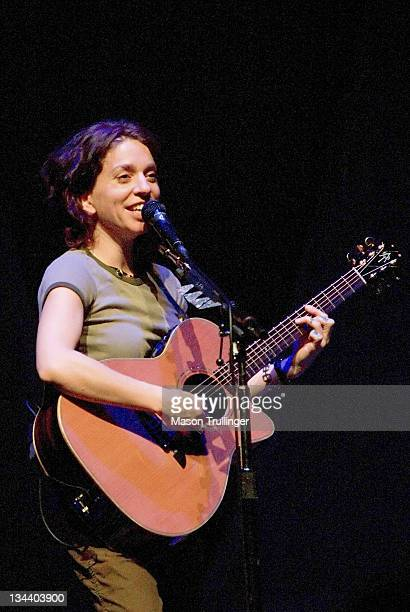 Ani DiFranco during Ani DiFranco in Concert February 14 2005 at Arlington Theatre in Santa Barbara CA United States