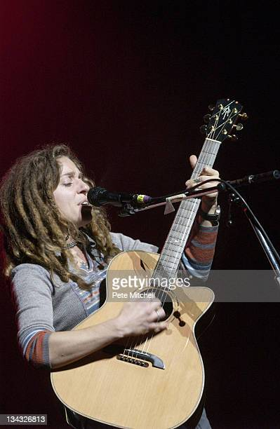 Ani DiFranco during Planned Parenthood Stand Up for Choice Extravaganza at Warner Theater in Washington DC New York United States