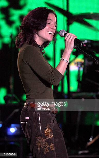 Ani DiFranco during VH1's 'Decades Rock Live' Honors Cyndi Lauper November 11 2005 at Trump Taj Mahal in Atlantic City New Jersey United States