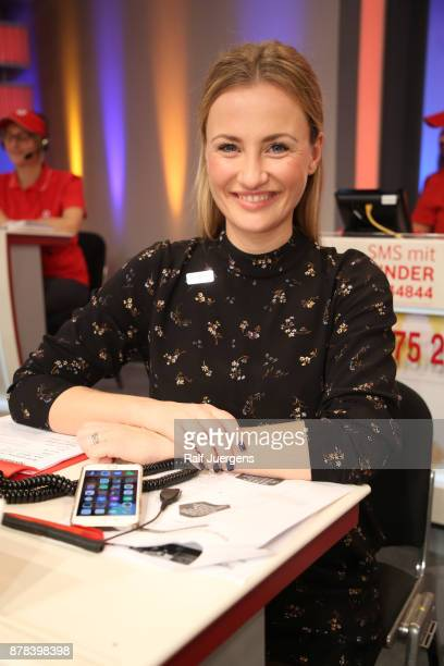 Ania Niedeck attends the 22nd RTL Telethon on November 23 2017 in Huerth Germany