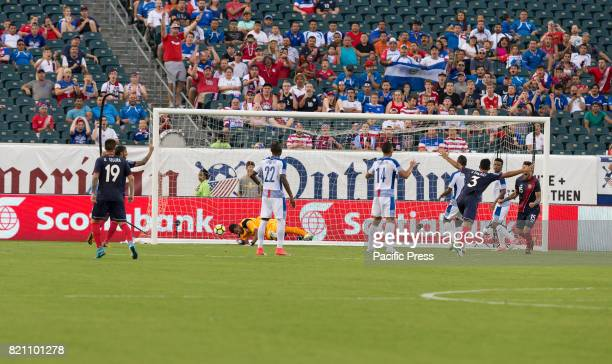 Anibal Godoy of Panama not pictured scored own goal during 2017 Gold Cup quaterfinal game against Costa Rica Costa Rica won 1 0