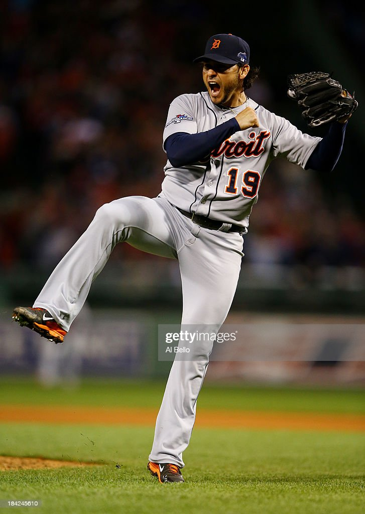 ALCS - Detroit Tigers v Boston Red Sox - Game One