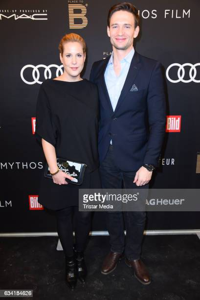Anika Decker and August Wittgenstein attend the PLACE TO B PreBerlinale Dinner at Provocateur on February 7 2017 in Berlin Germany