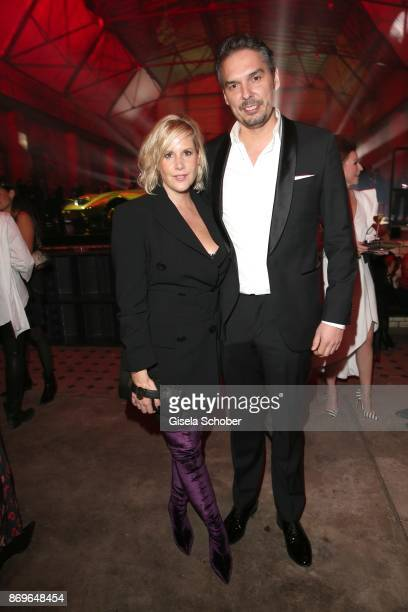 Anika Decker and her boyfriend Alexander Wilde during the 'When the Ordinary becomes Precious #CartierParty Berlin' at Old Power Station on November...