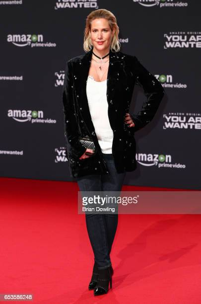 Anika Decker arrives at Amazon Prime Video's premiere of the series 'You are Wanted' at CineStar on March 15 2017 in Berlin Germany
