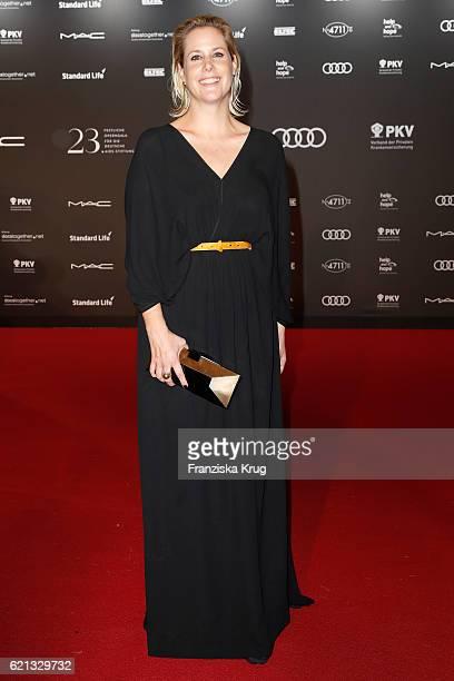 Anika Decker arrives at the 23rd Opera Gala at Deutsche Oper Berlin on November 5 2016 in Berlin Germany