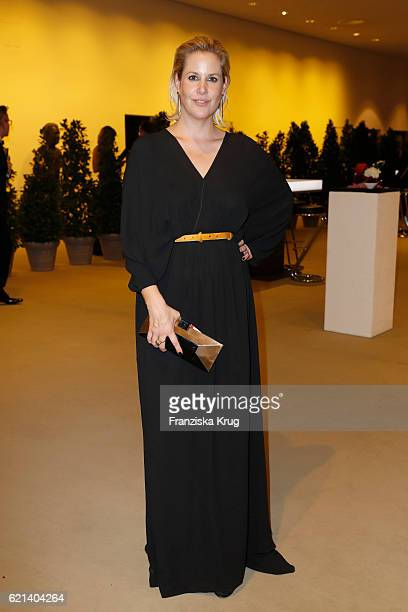 Anika Decker attends the aftershow party during the 23rd Opera Gala at Deutsche Oper Berlin on November 5 2016 in Berlin Germany