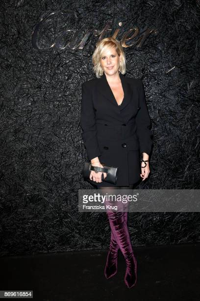 Anika Decker attends the When the Ordinary becomes Precious #CartierParty at Old Power Station on November 2 2017 in Berlin Germany