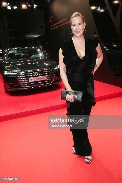 Anika Decker during the 24th Opera Gala benefit to Deutsche AidsStiftung at Deutsche Oper Berlin on November 4 2017 in Berlin Germany