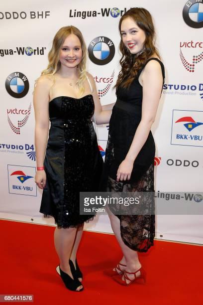 Anika Lamade and Nina Seemann attend the Victress Awards Gala on May 8 2017 in Berlin Germany
