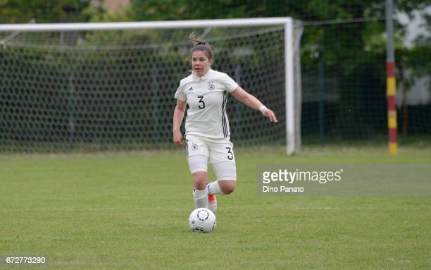 Anika Metzner of Germany women's U16 competes during the 2nd Female Tournament 'Delle Nazioni' match between Germany U16 and Belgium at Stadio...