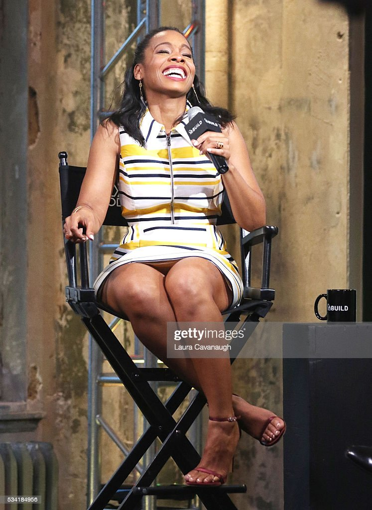 <a gi-track='captionPersonalityLinkClicked' href=/galleries/search?phrase=Anika+Noni+Rose&family=editorial&specificpeople=227294 ng-click='$event.stopPropagation()'>Anika Noni Rose</a> attends AOL Build Speaker Series to discuss 'Roots' at AOL Studios In New York on May 25, 2016 in New York City.