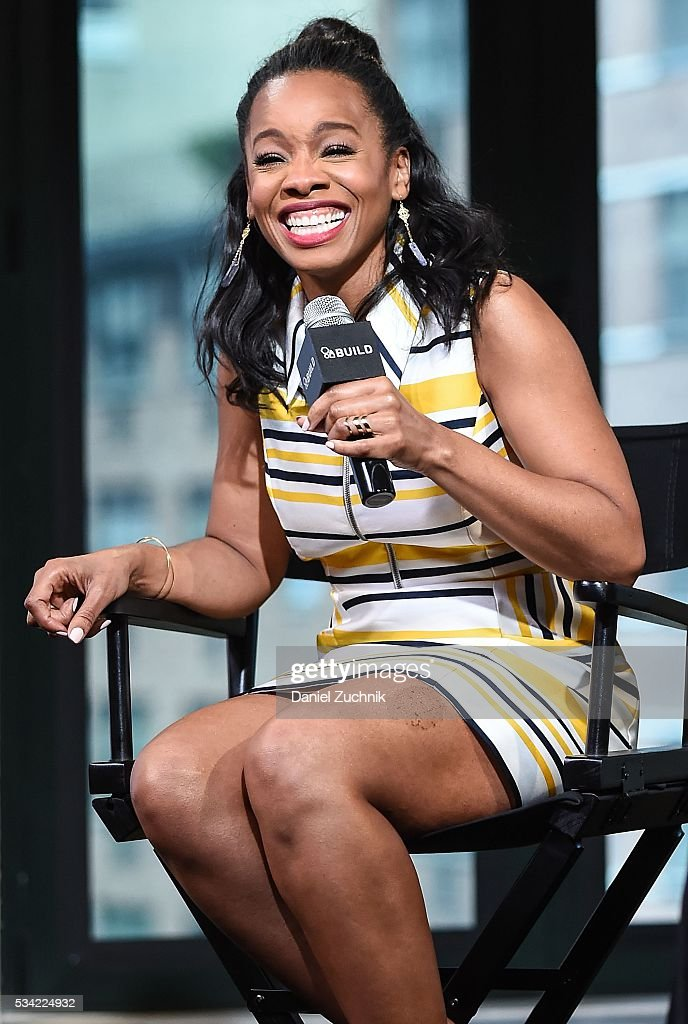Anika Noni Rose attends AOL Build to discuss 'Roots' at AOL Studios on May 25 2016 in New York City