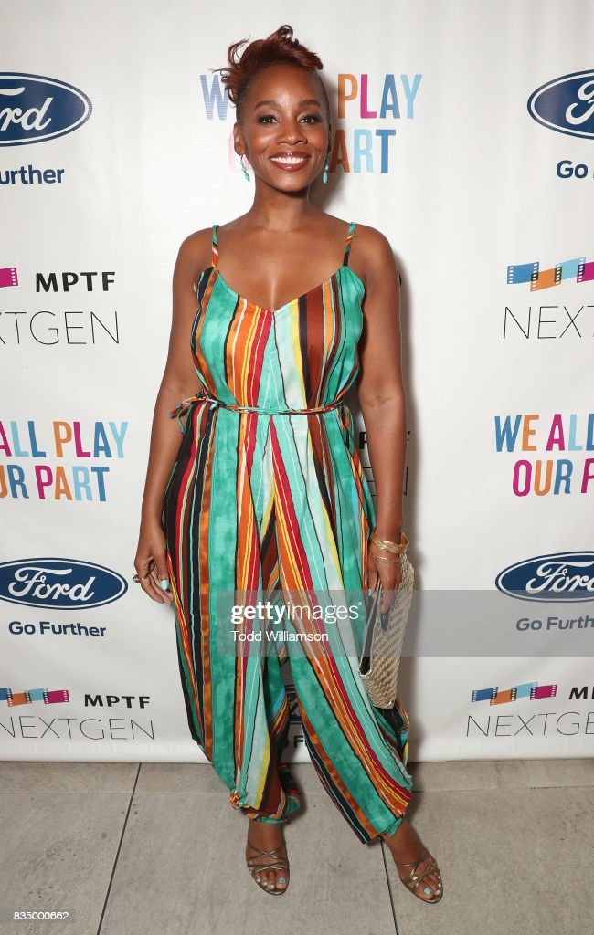 Anika Noni Rose attends MPTF's NextGen Summer Party at NeueHouse Hollywood on August 17, 2017 in Los Angeles, California.