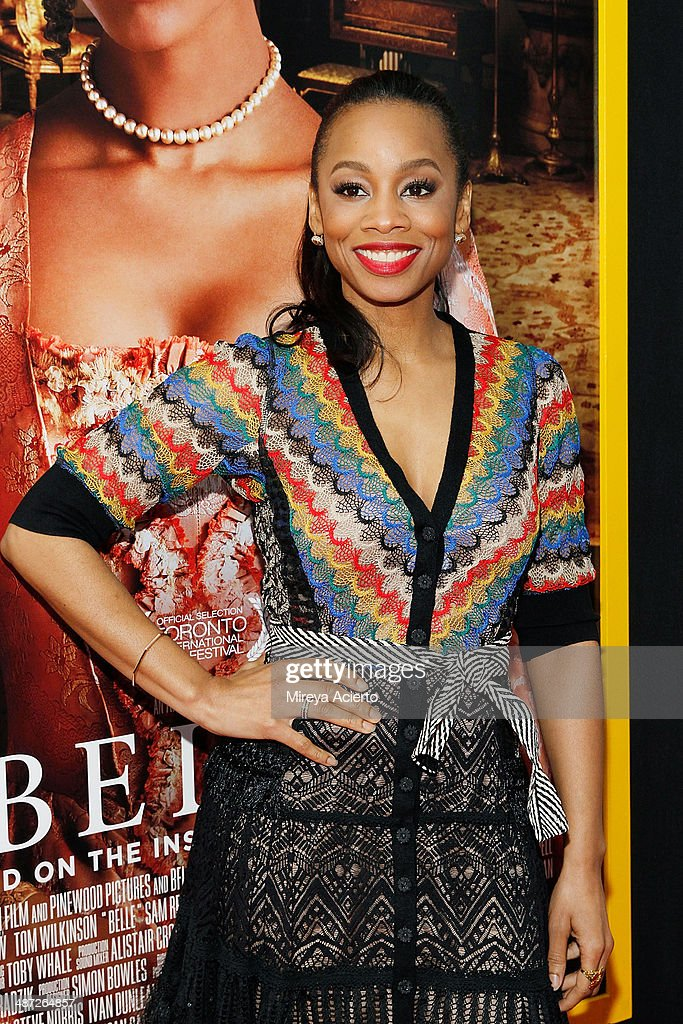 <a gi-track='captionPersonalityLinkClicked' href=/galleries/search?phrase=Anika+Noni+Rose&family=editorial&specificpeople=227294 ng-click='$event.stopPropagation()'>Anika Noni Rose</a> attends the 'Belle' premiere at The Paris Theatre on April 28, 2014 in New York City.