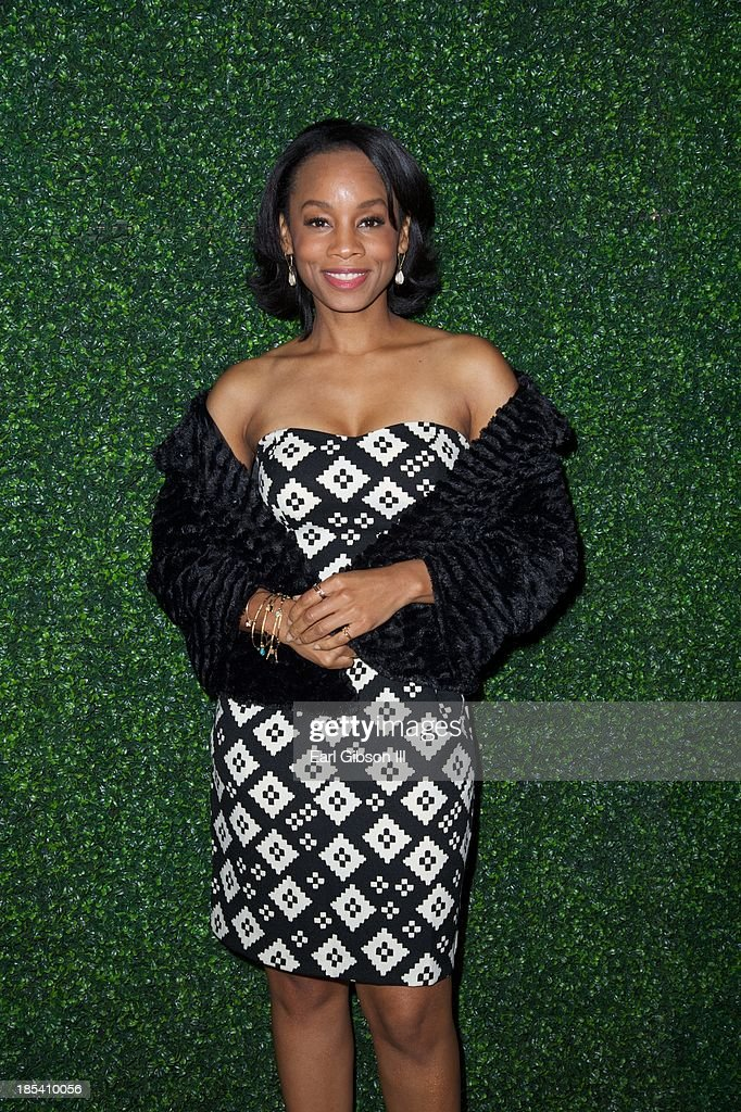 Anika Noni Rose attends the House Of Flowers Gala on October 19, 2013 in Beverly Hills, California.