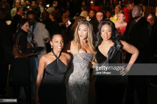 Anika Noni Rose Beyonce Knowles and Jennifer Hudson