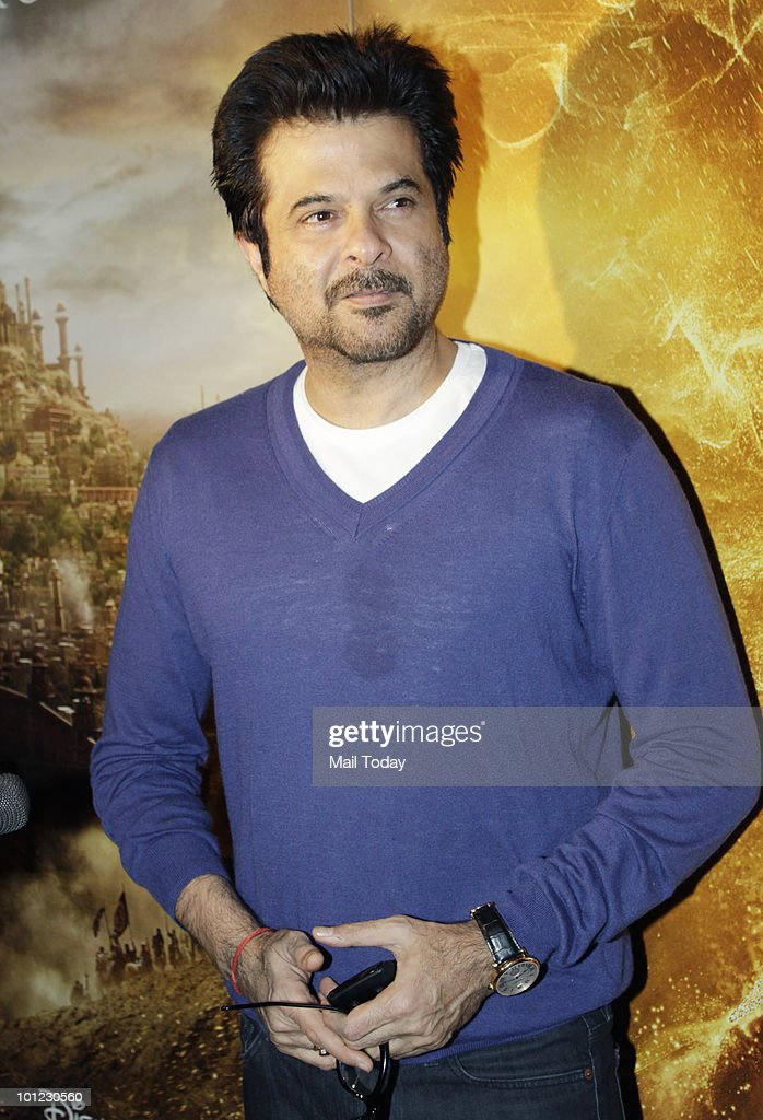 Anil Kapoor at the premiere of the film Prince of Persia:The Sands of Time in Mumbai on May 27, 2010.