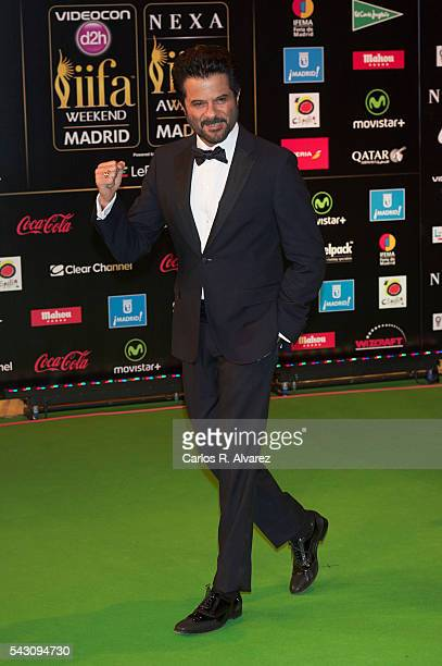 Anil Kapoor attends the 17th IIFA Awards at Ifema on June 25 2016 in Madrid Spain