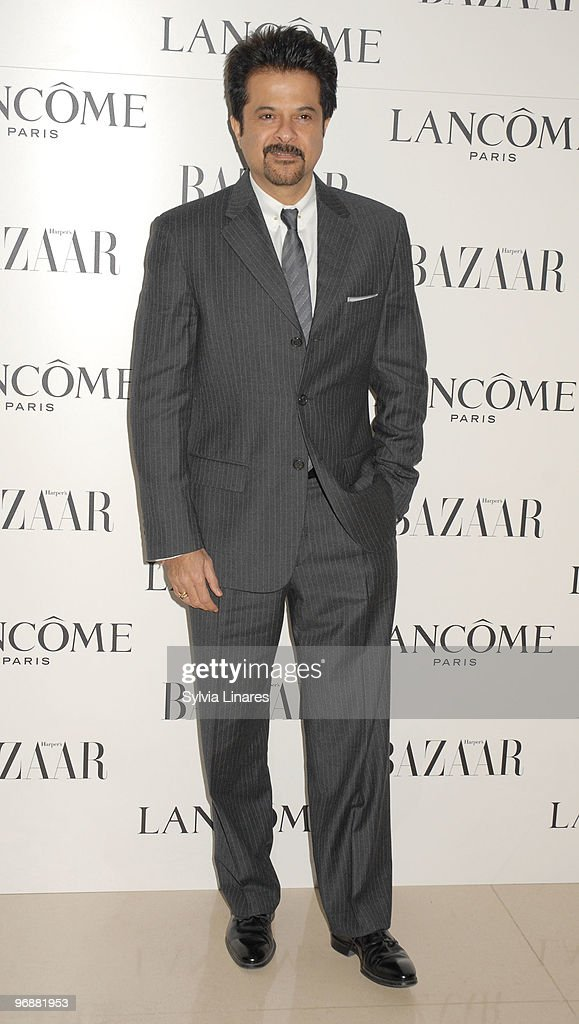 <a gi-track='captionPersonalityLinkClicked' href=/galleries/search?phrase=Anil+Kapoor&family=editorial&specificpeople=563857 ng-click='$event.stopPropagation()'>Anil Kapoor</a> attends the Lancome and Harper's Bazaar BAFTA party held at St Martins Lane Hotel on February 19, 2010 in London, England.