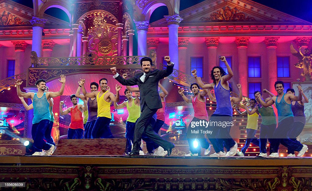 Anil Kapoor performs during Indian Television Academy Awards 2012 (ITA Awards), held in Mumbai on November 4, 2012.